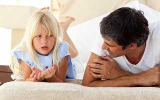 Порядок общения отца с ребенком после развода по закону